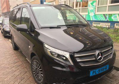 Taxi Rotterdam Mercedes Vito voorkant